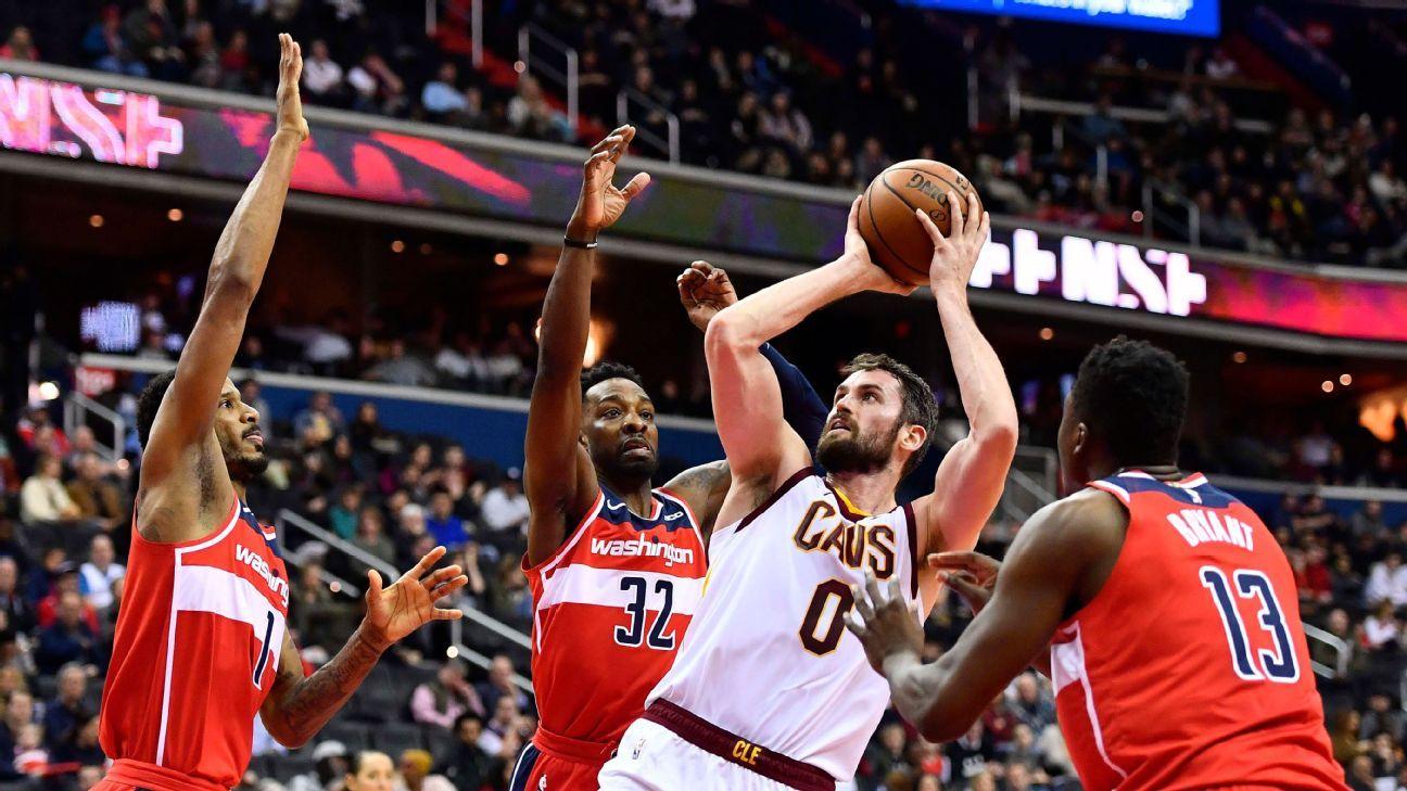 245923c9af2 Kevin Love returns for Cavaliers after missing 50 games
