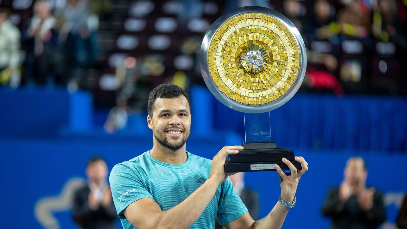 Open Sud de France: Tsonga beats Herbert in all-French final to lift title