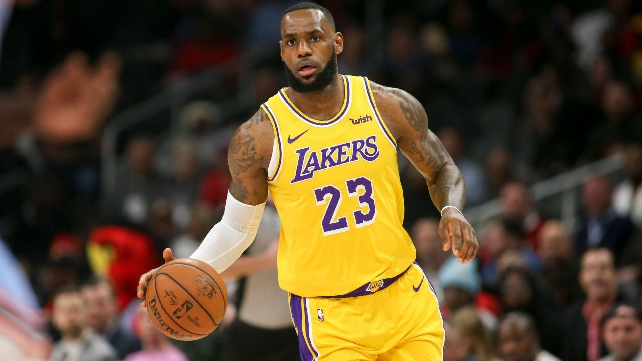 cheap for discount 78992 c03e1 LeBron James hopes Lakers use All-Star break to  decompress