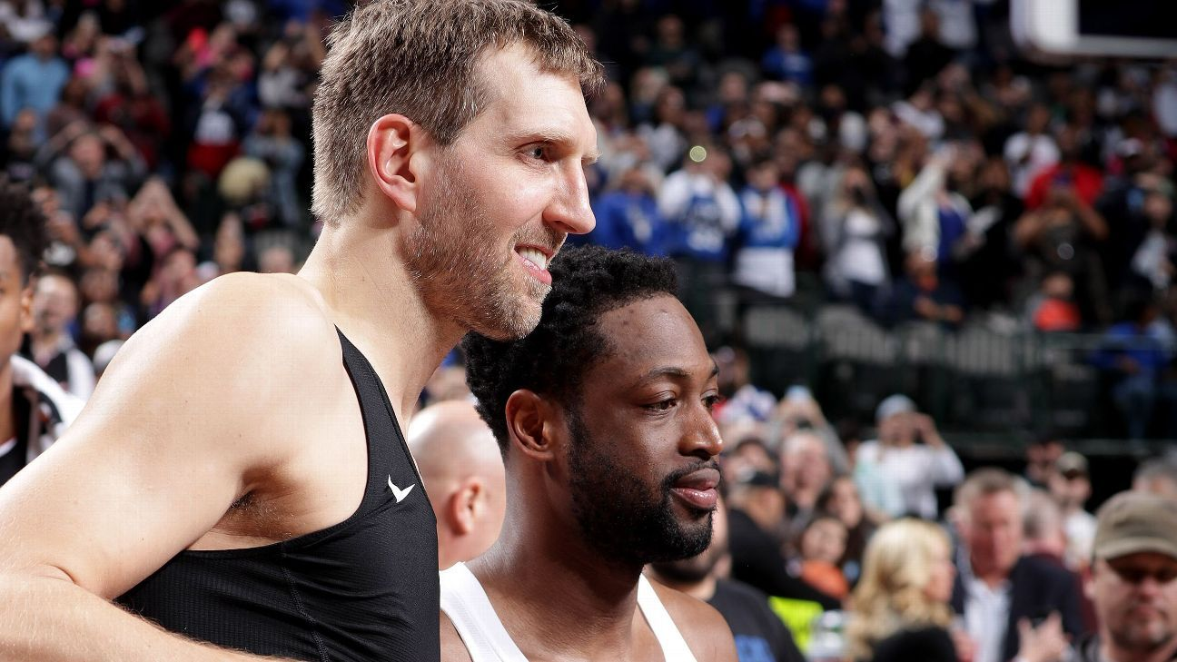 Once icy rivals, Heat's Dwyane Wade and Mavs' Dirk ...