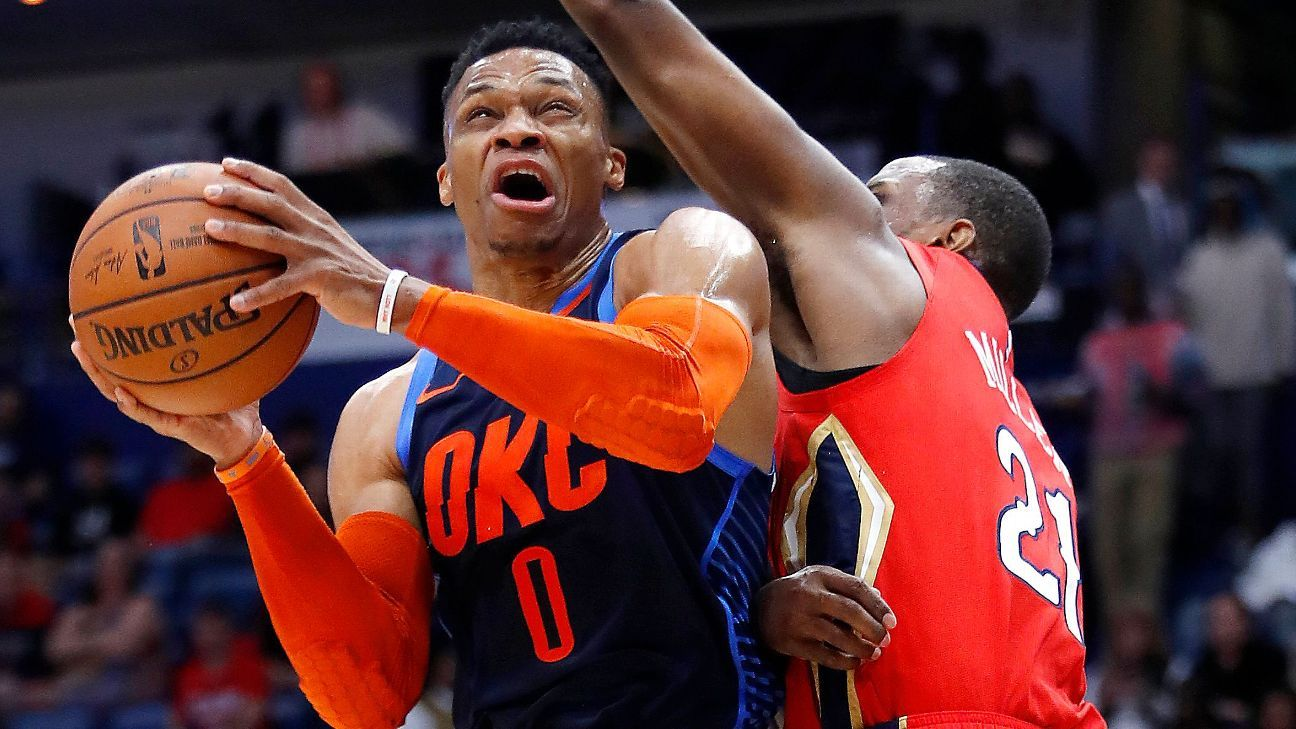 6c933cfcd84 Russell Westbrook extends NBA record triple-double streak to 11 games