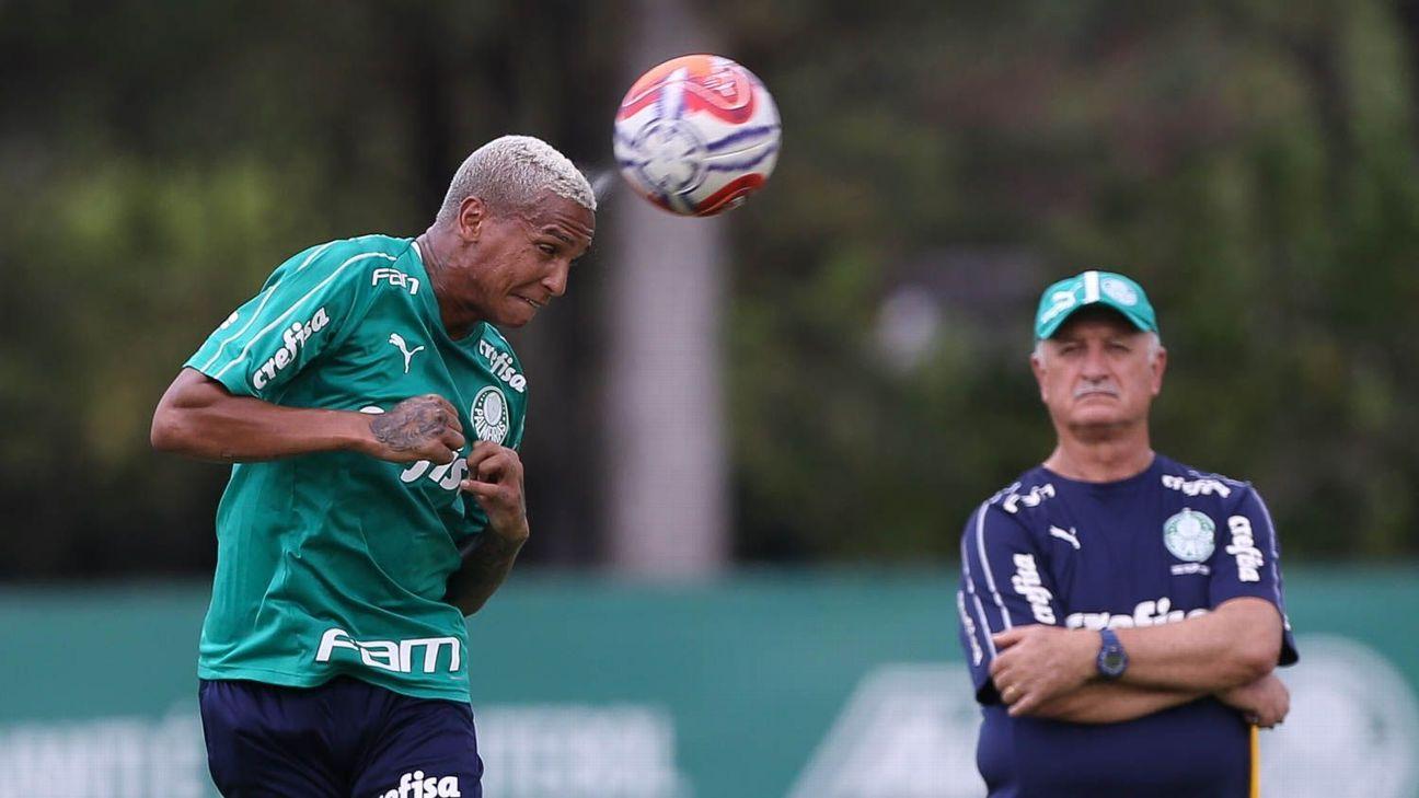 1491e7783 Palmeiras  Felipão vê elenco  diminuir  por cuidados especiais ...