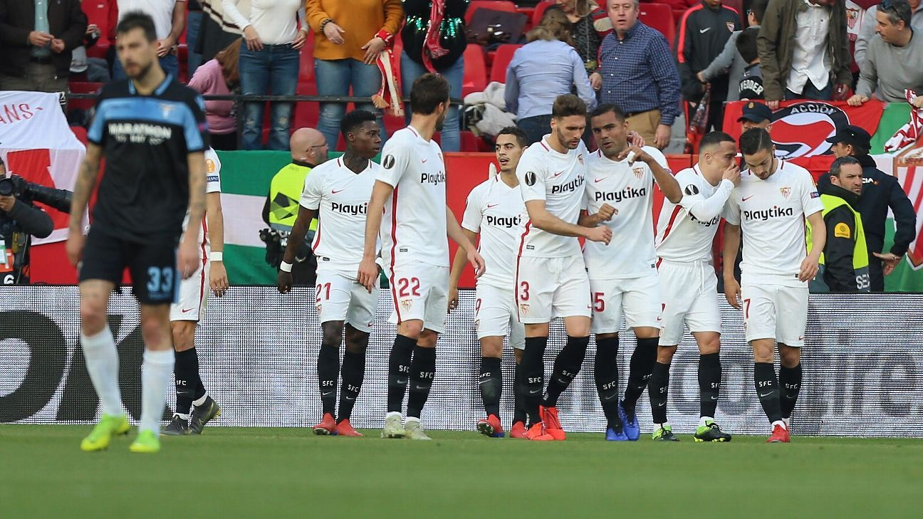 b50a4e33966 Sevilla FC vs. Lazio - Football Match Report - February 20