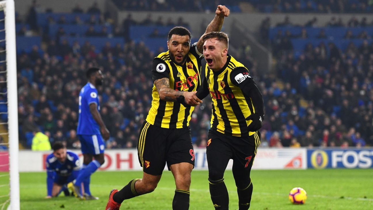 Cardiff City vs. Watford - Football Match Report - February 22, 2019 - ESPN