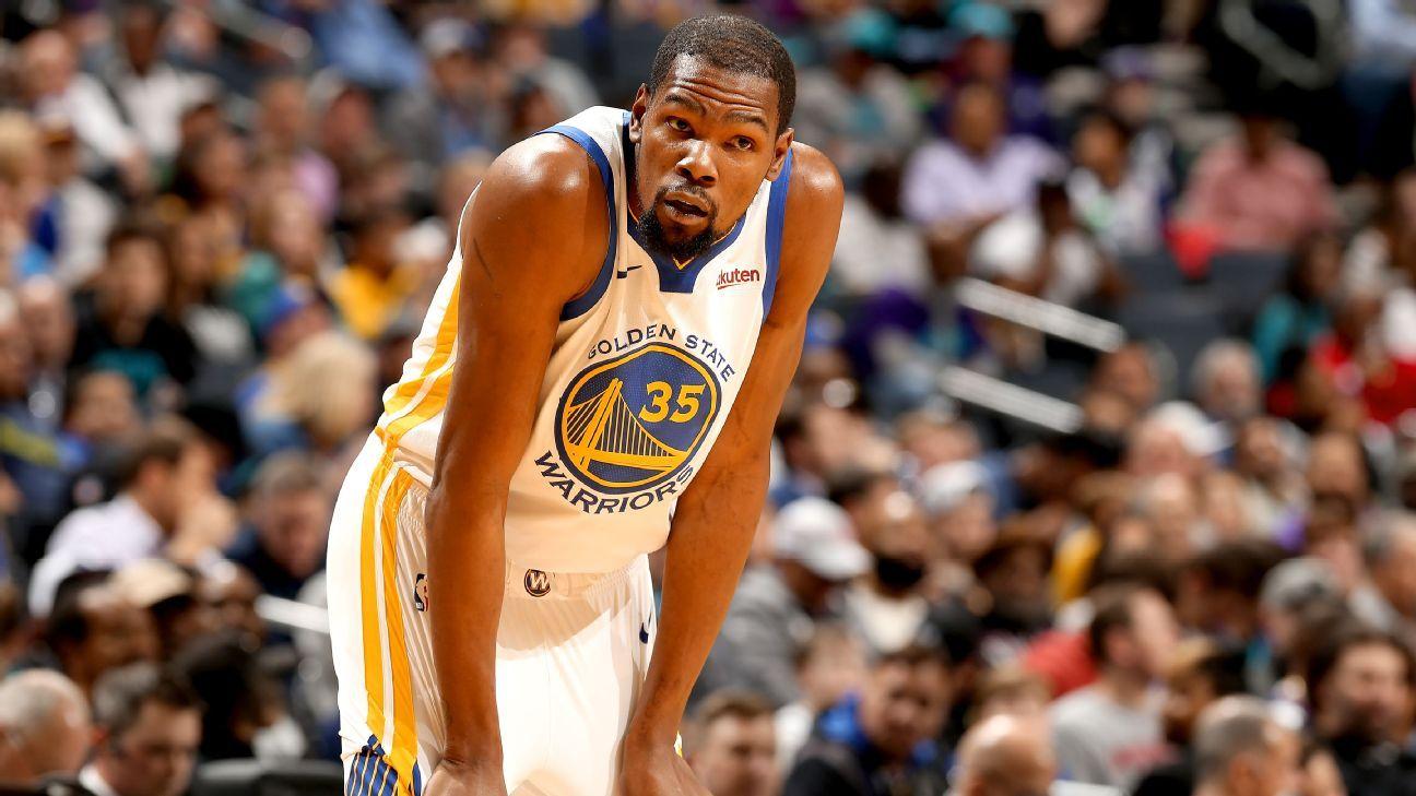 Image result for Warriors' Durant (rest) misses 1st game of season