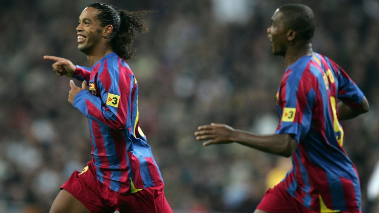 2f43bf73b427e Real Madrid x Barcelona  O dia em que Ronaldinho fez o Santiago Bernabéu  aplaudi-lo de pé