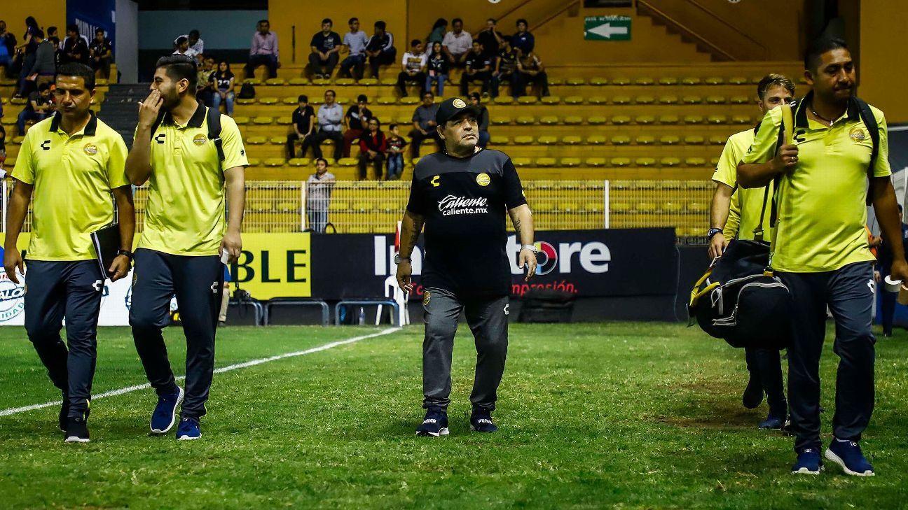 Diego Maradona asegura que sus jugadores dieron un salto de calidad c19bb7c112b83