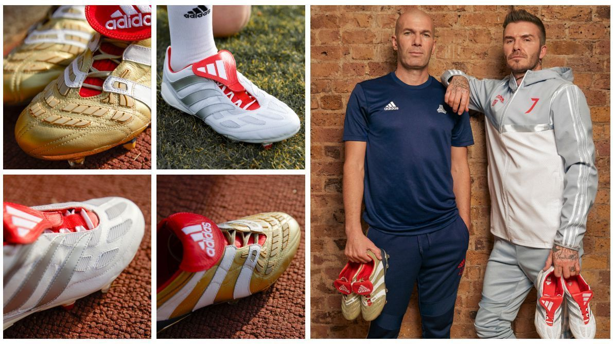 36ddded06af Adidas releases Zidane and Beckham special-edition Predators