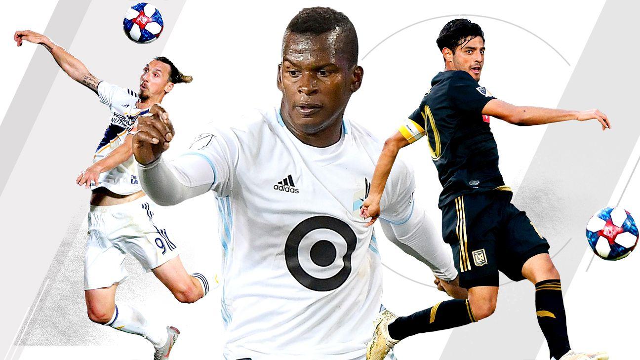 Quintero, Ibra, Vela the kings of MLS Dual Threats