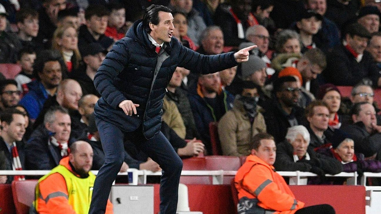 Unai Emery hails Arsenal for 'growing up under pressure' after Europa win