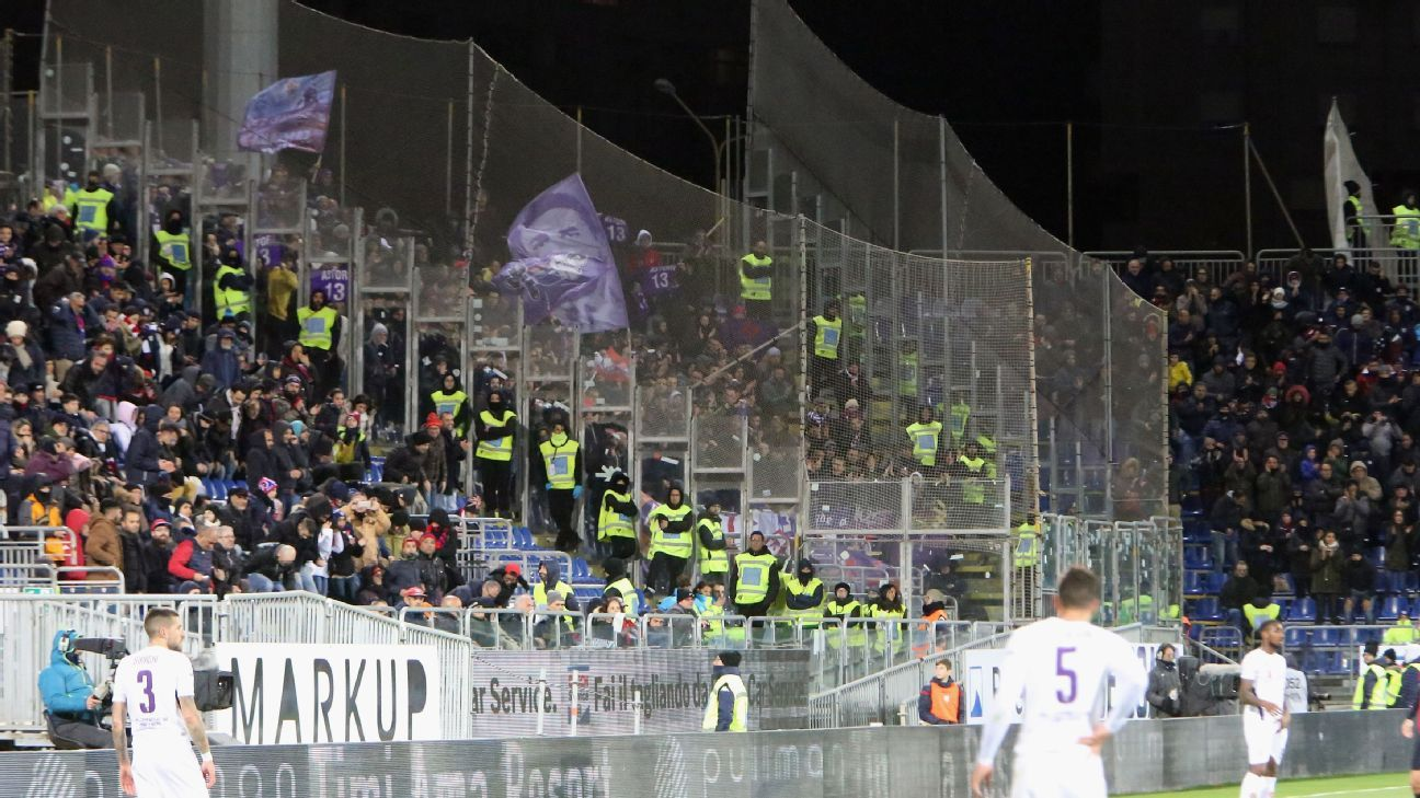 Fiorentina condemn chants as rival fan suffered fatal heart attack during match