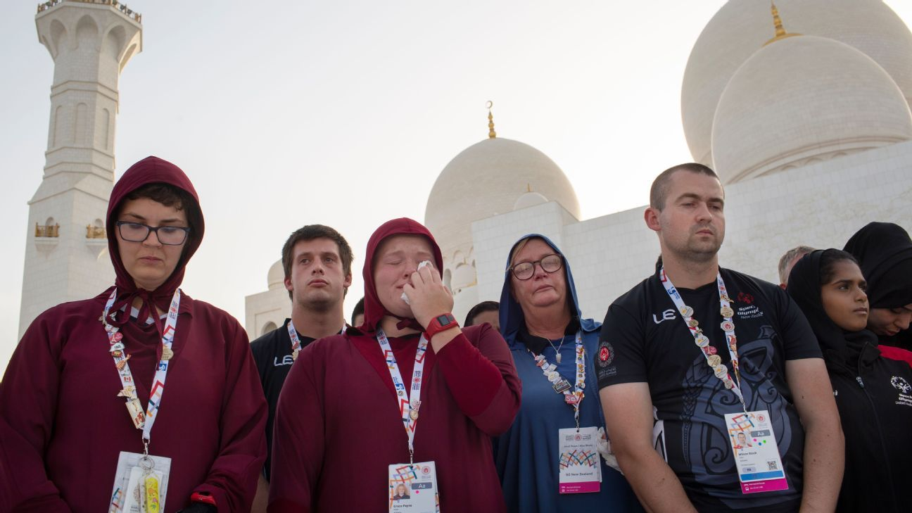 New Zealand honors terror victims at Special Olympics World Games