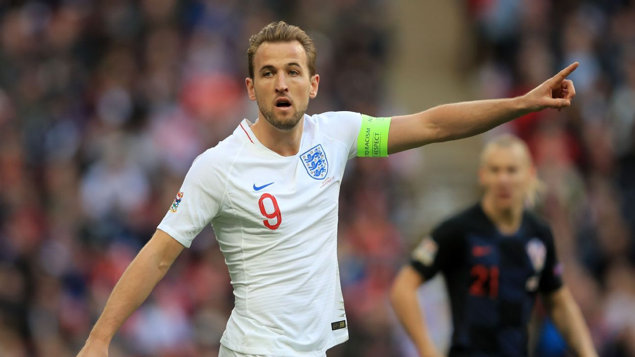 England captain Harry Kane named in Nations League finals squad