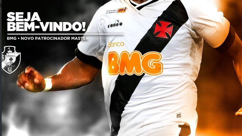 d9b4d3da81005 Vasco anuncia novo patrocinador máster