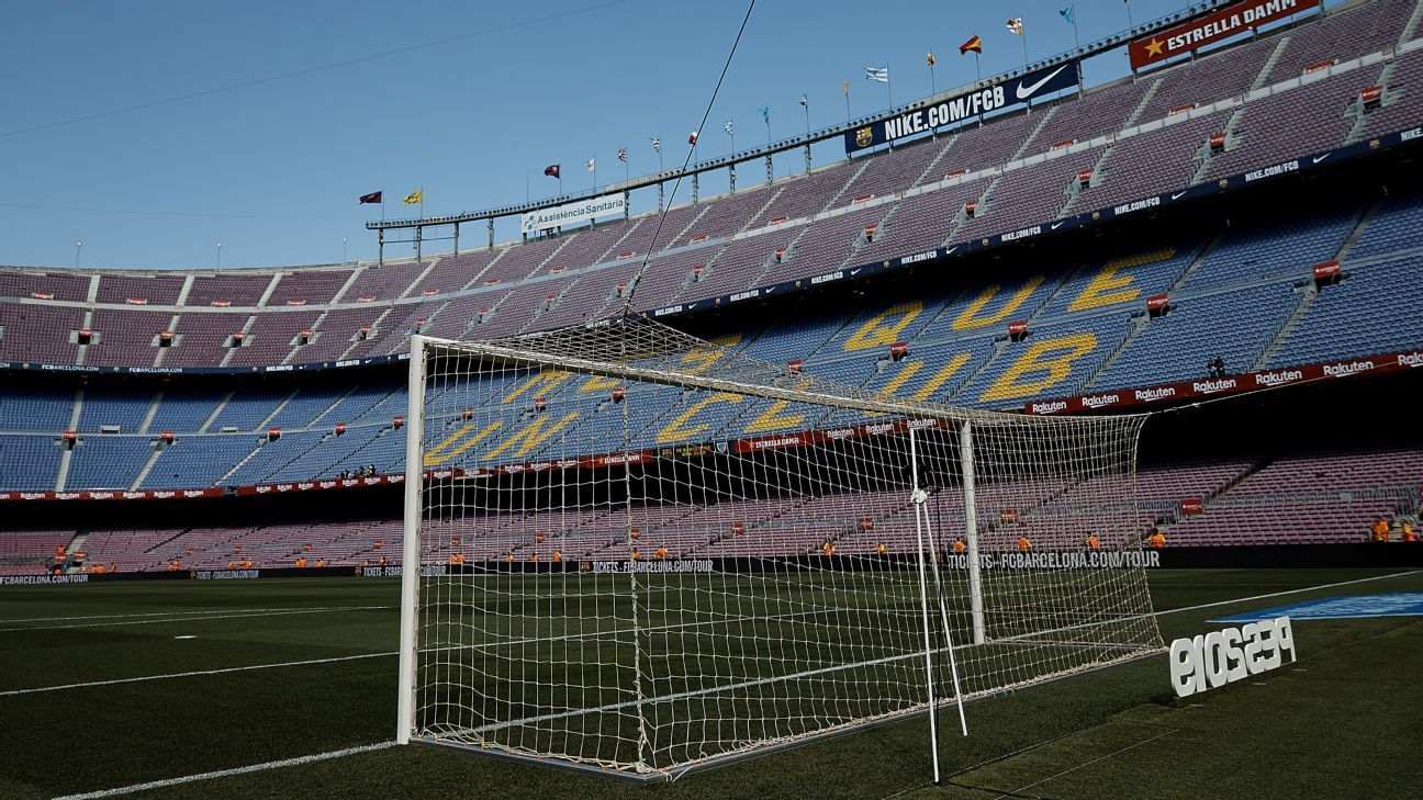 Barcelona to turn Camp Nou into rugby pitch