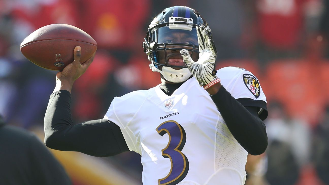 Backing it up: Ravens show their faith in Robert Griffin III