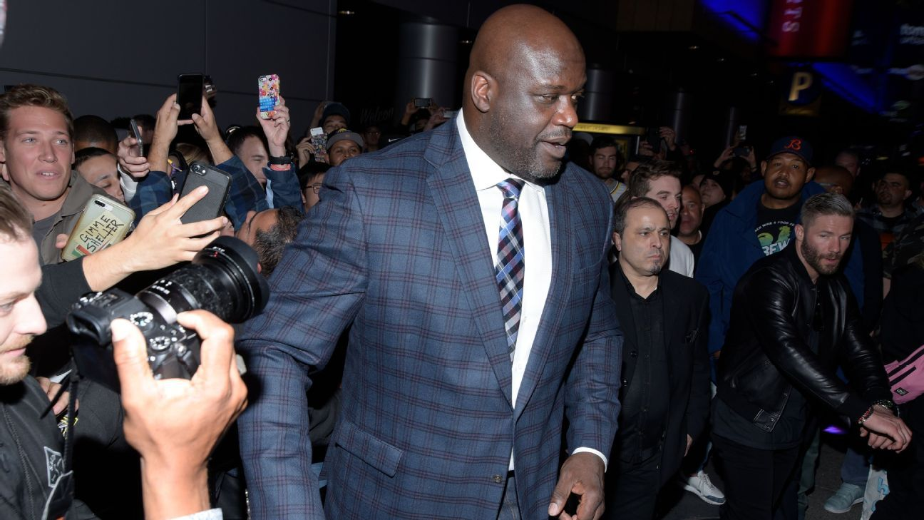 Shaq says he 'stopped going' to 'Tiger King' zoo
