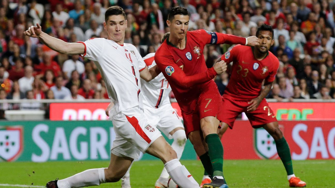 Portugal vs  Serbia - Football Match Summary - March 25