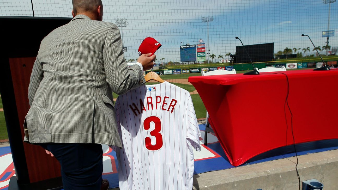 cheap for discount f16df a74d6 Harper ends Judge's top-selling jersey reign