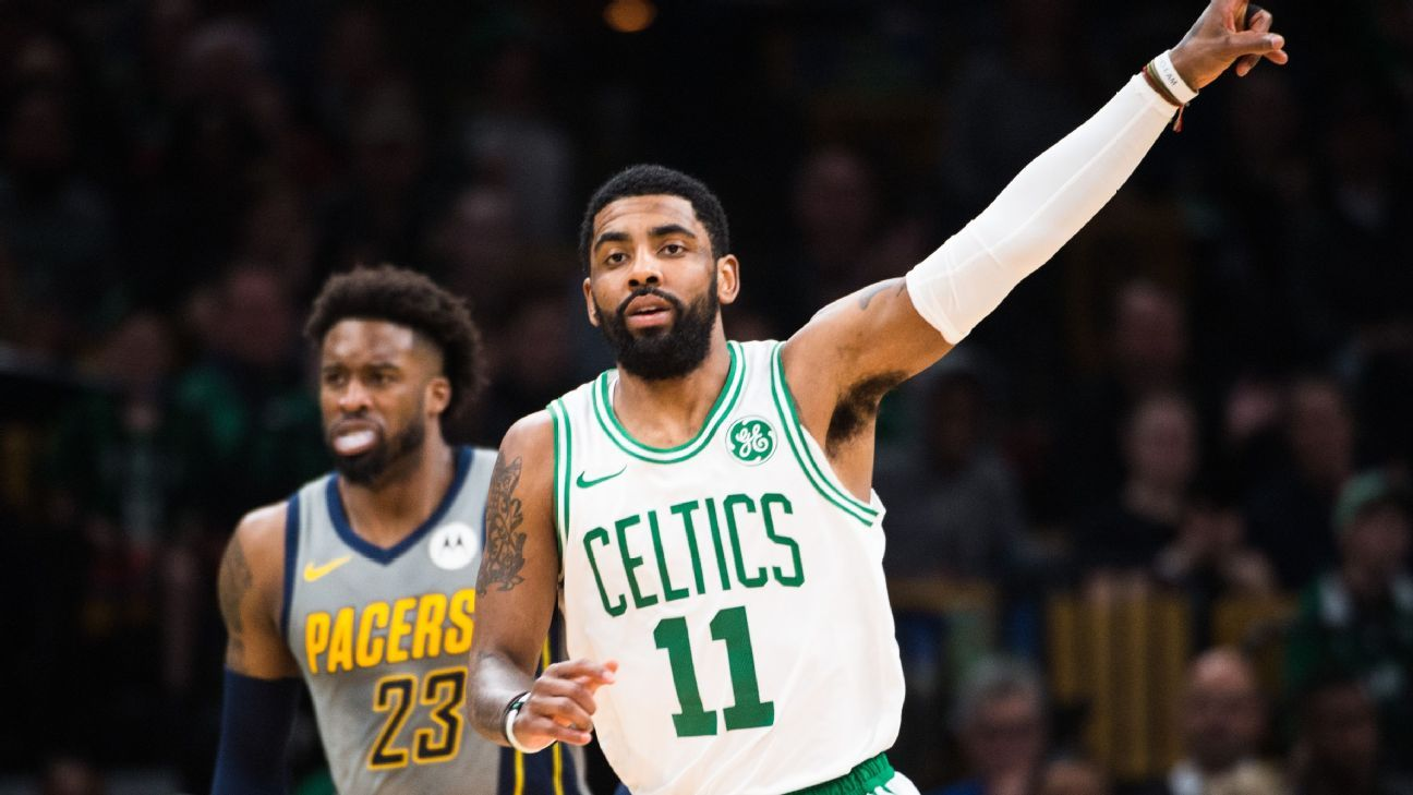 8b9a6f143b10 Kyrie plays closer role in Celtics-Pacers preview