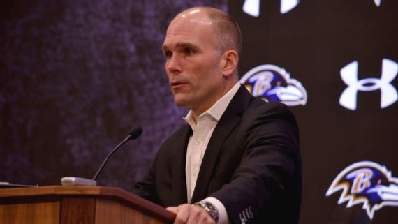 Ravens' Eric DeCosta: A master of determination, patience