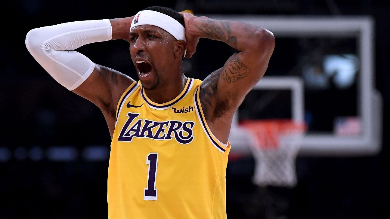 e84fca0ebbe KCP -- Lakers 'lost themselves' at trade deadline