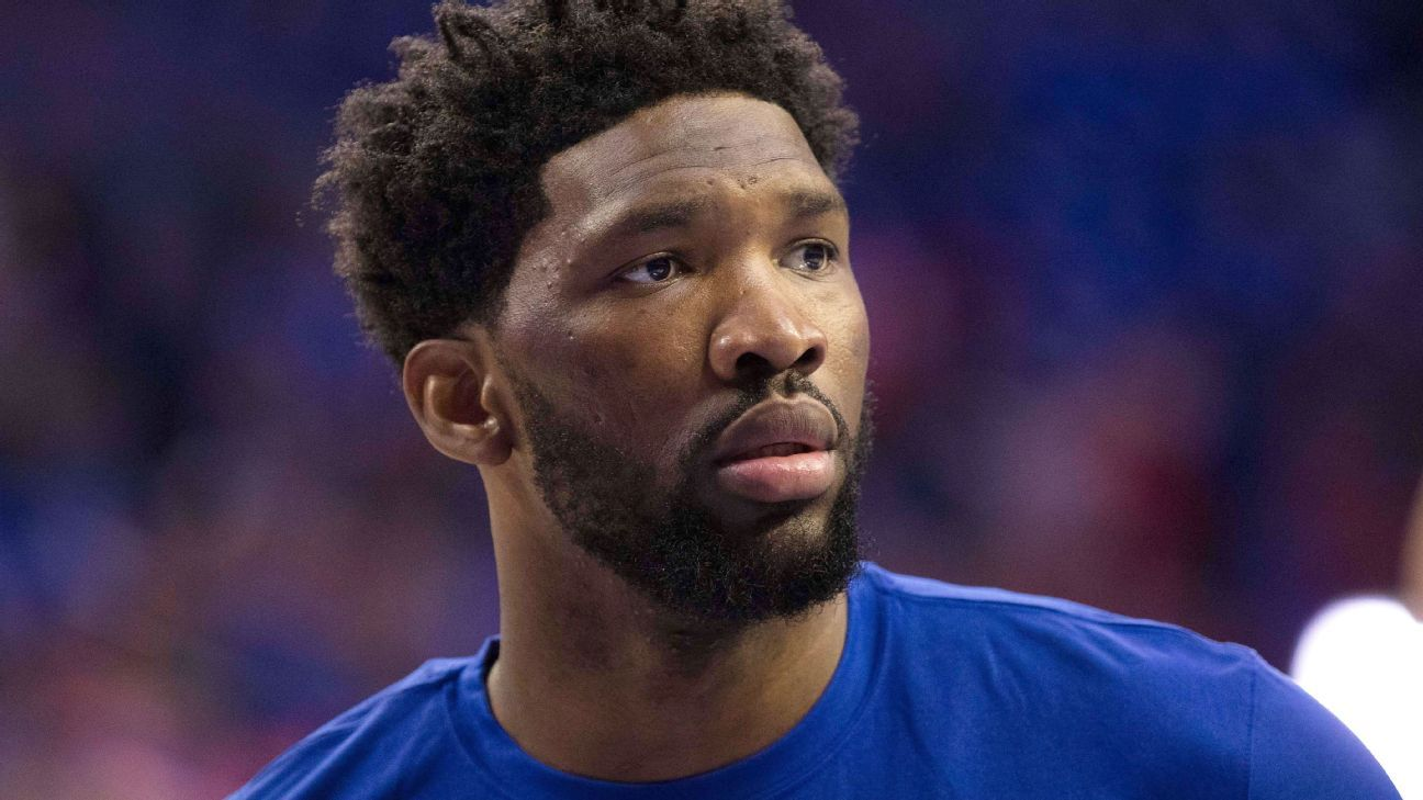 Embiid (sore knee) listed as doubtful for Game 4