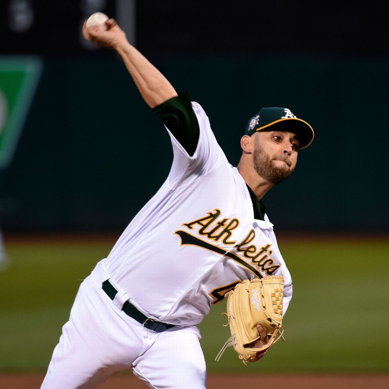 A's place Estrada on 10-day IL with lumbar strain