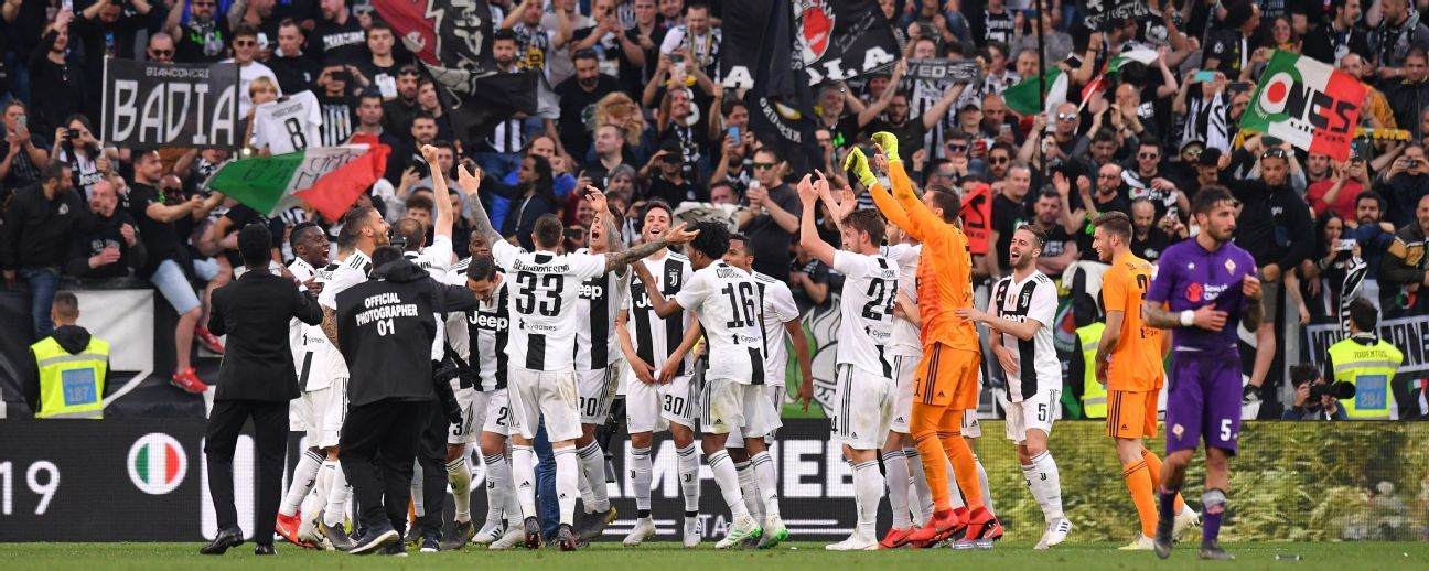 juventus vs fiorentina football match summary april 20 2019 espn espn com