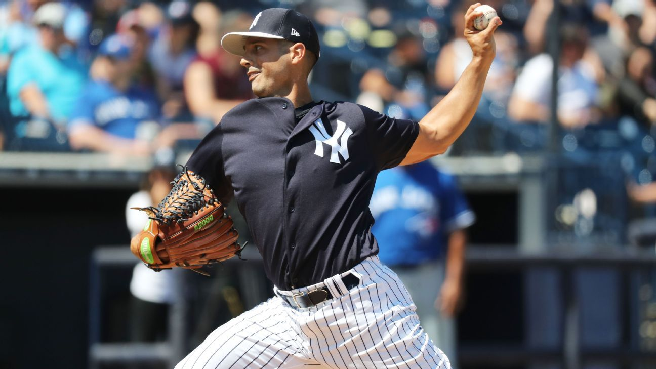 Veteran lefty Gonzalez opts out of Yankees deal