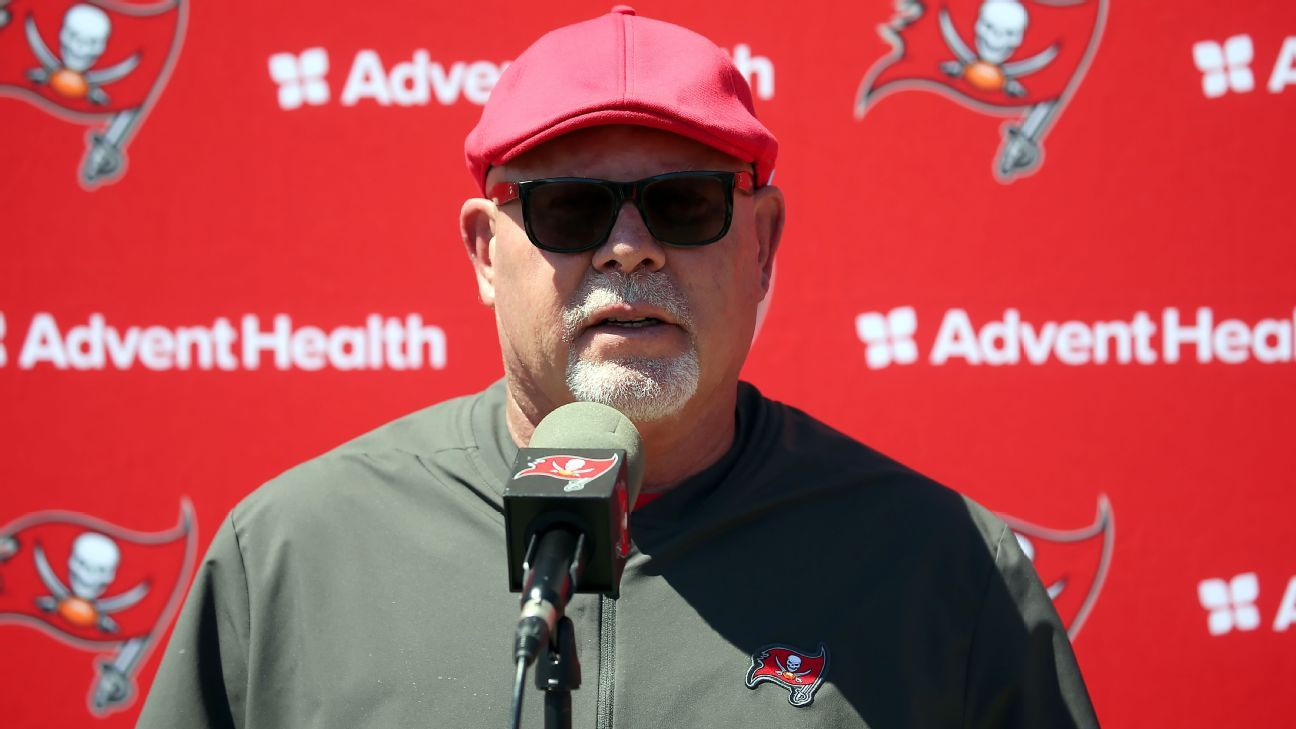 Arians rails against 'ridiculous' Bucs schedule