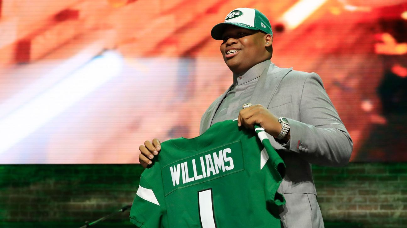 8c2893b2d6a Recent trends say Jets' first-round pick Quinnen Williams will be a star -  New York Jets Blog- ESPN