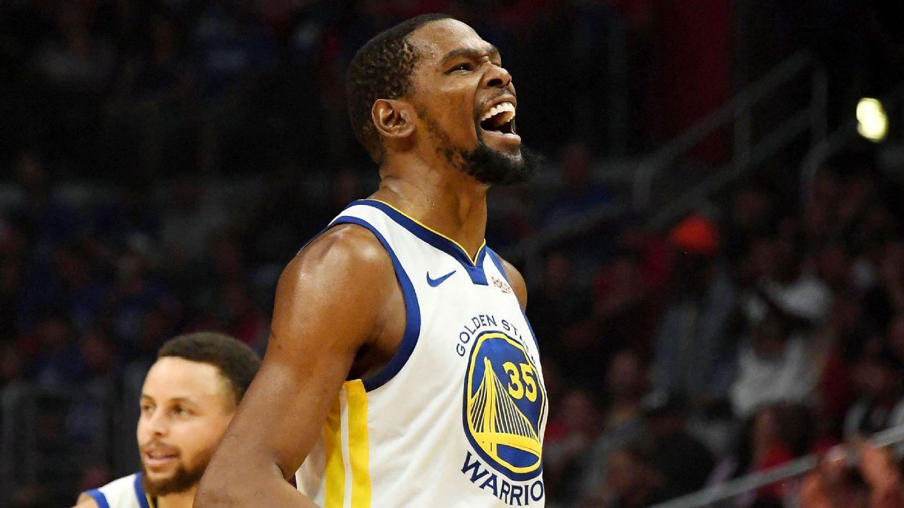 be7effb67a74  Ultimate weapon  Durant scores 50 in clincher