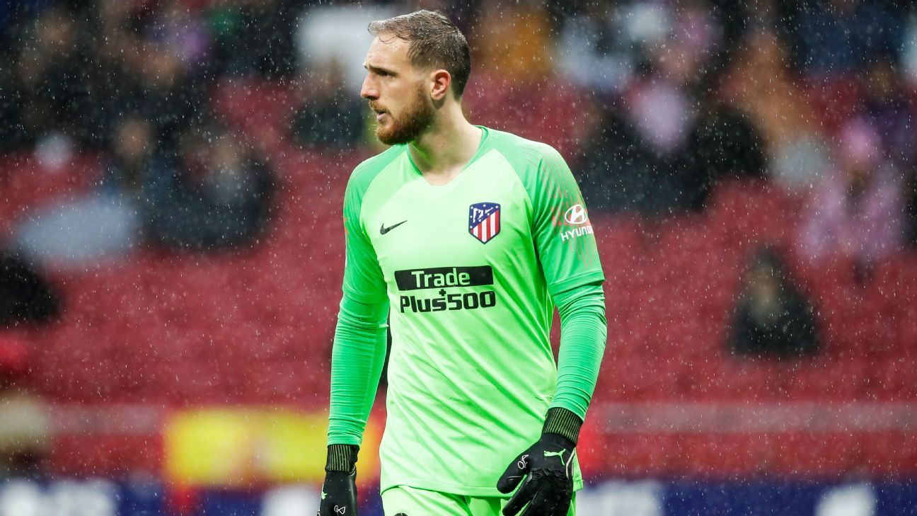 Oblak: Atletico's UCL preparations 'stressful' after positive tests - ESPN