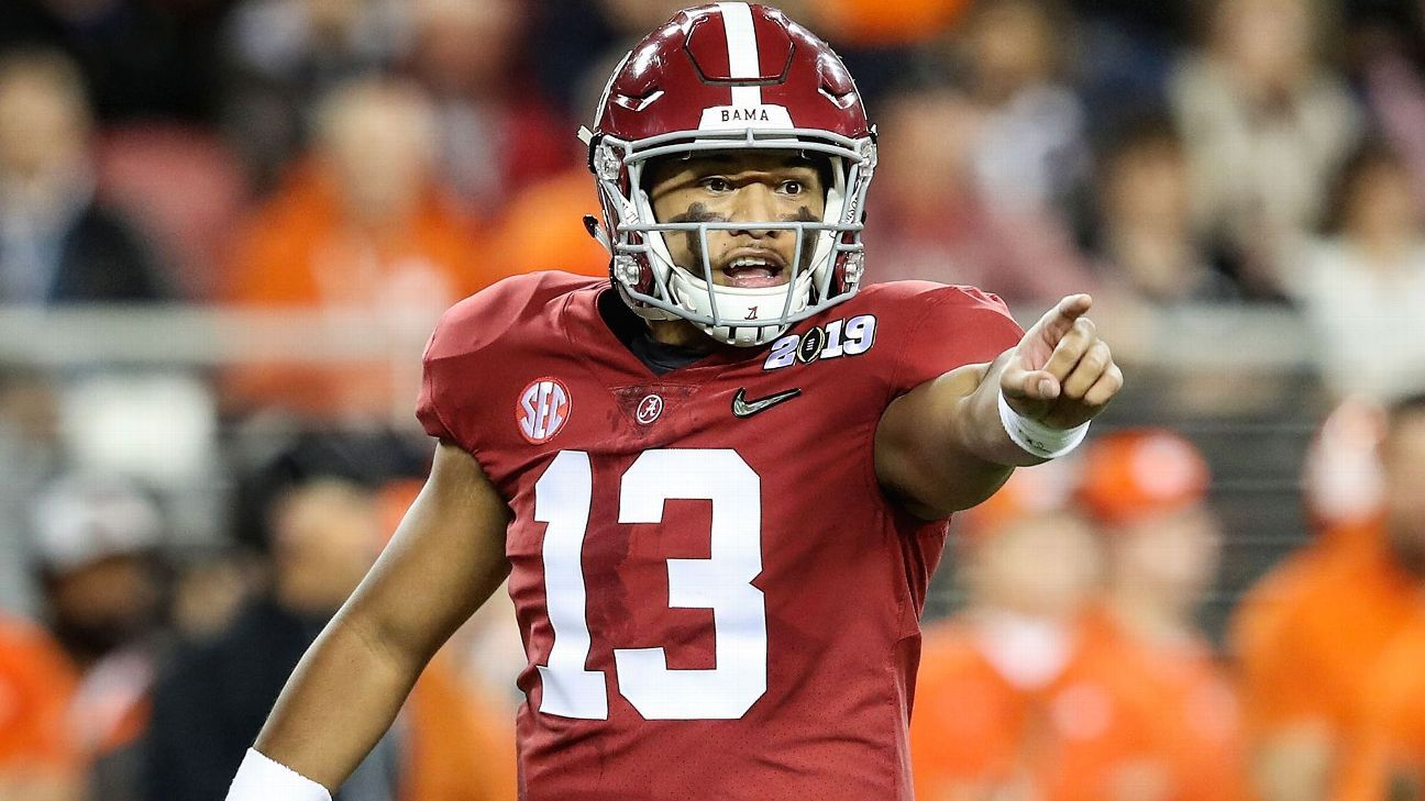 Tank for Tua? The 2020 NFL draft might be almost a year away, but it's not too early to look at a loaded QB class and where they might all end up.