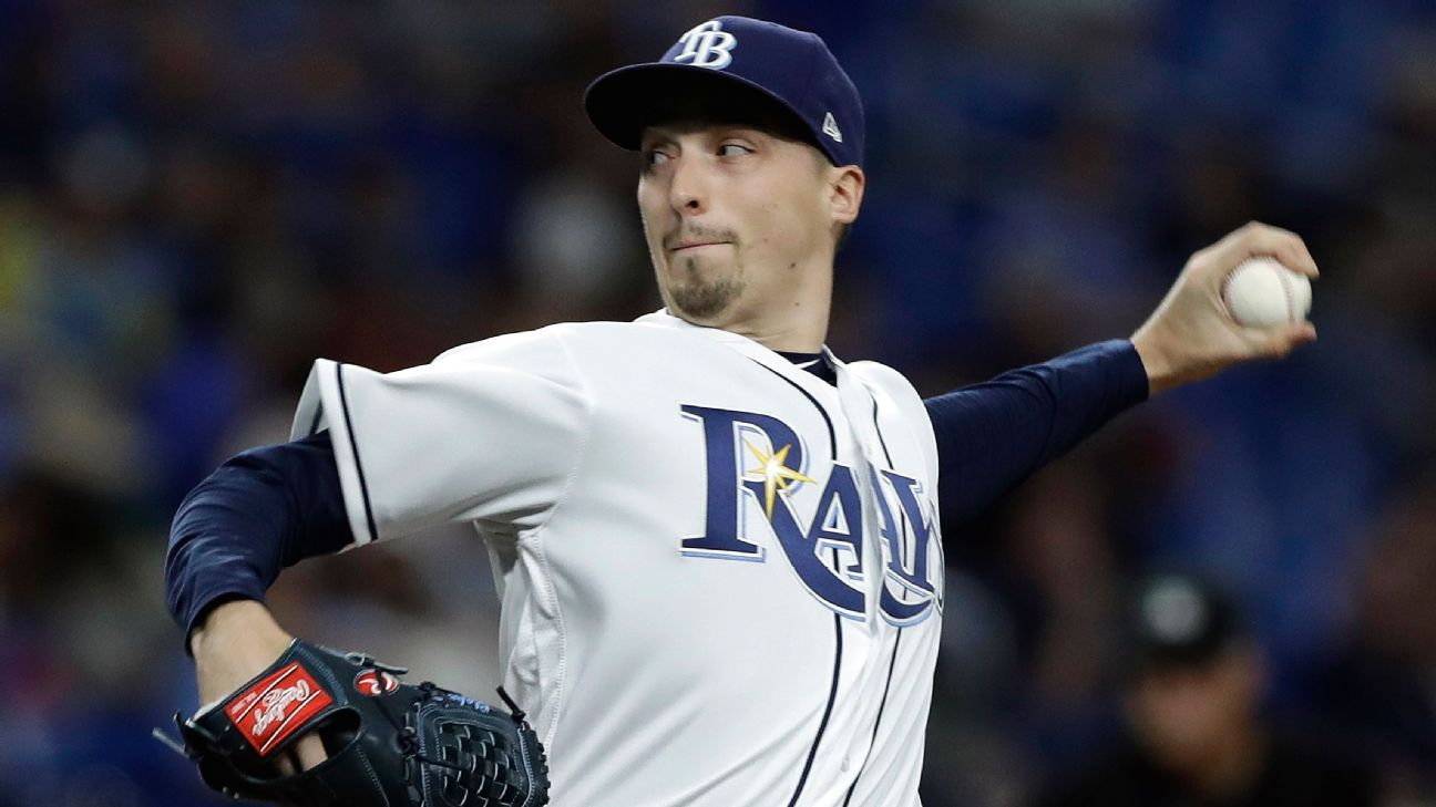 Rays pull Snell after 1 out, 6 runs against Yanks