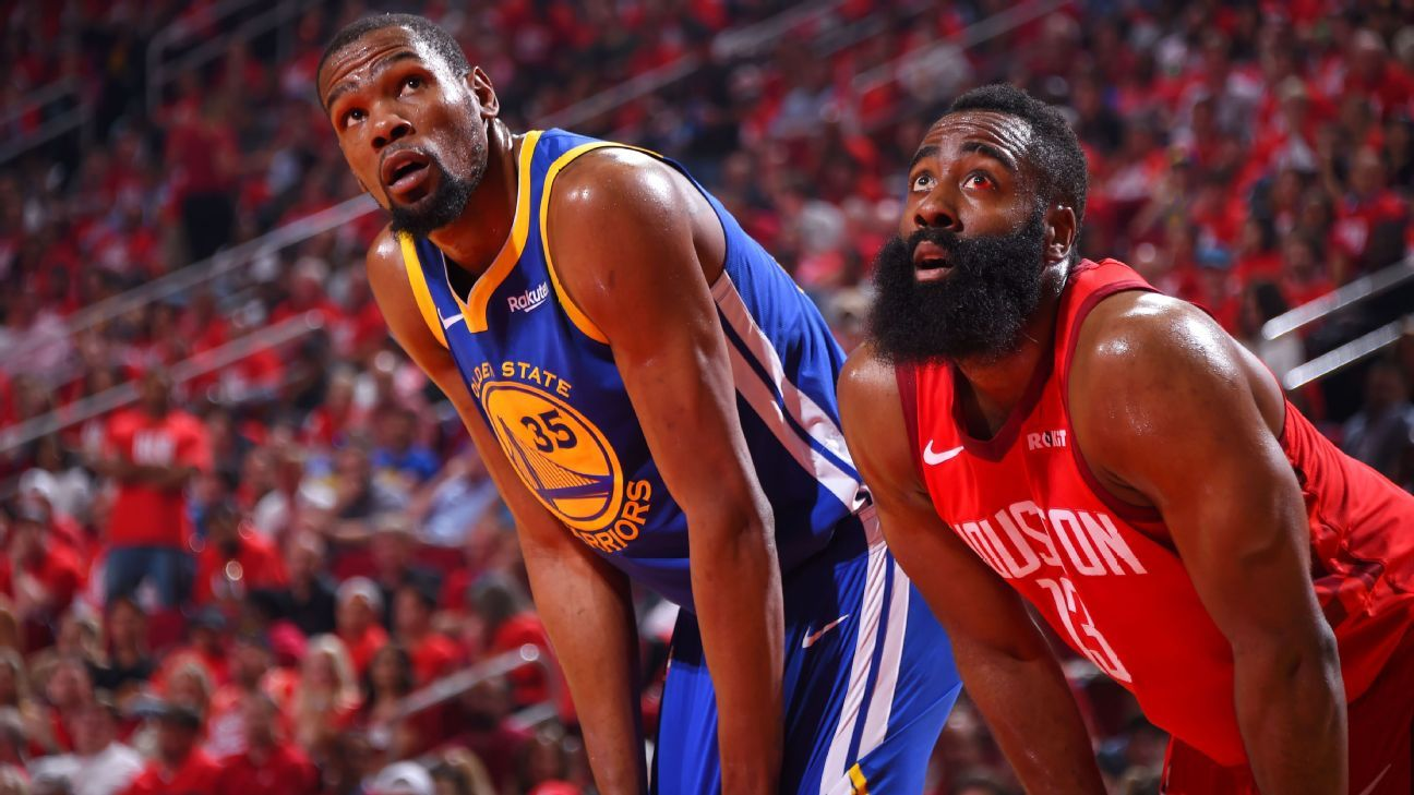 After four games, the Rockets-Warriors series is a classic in the making