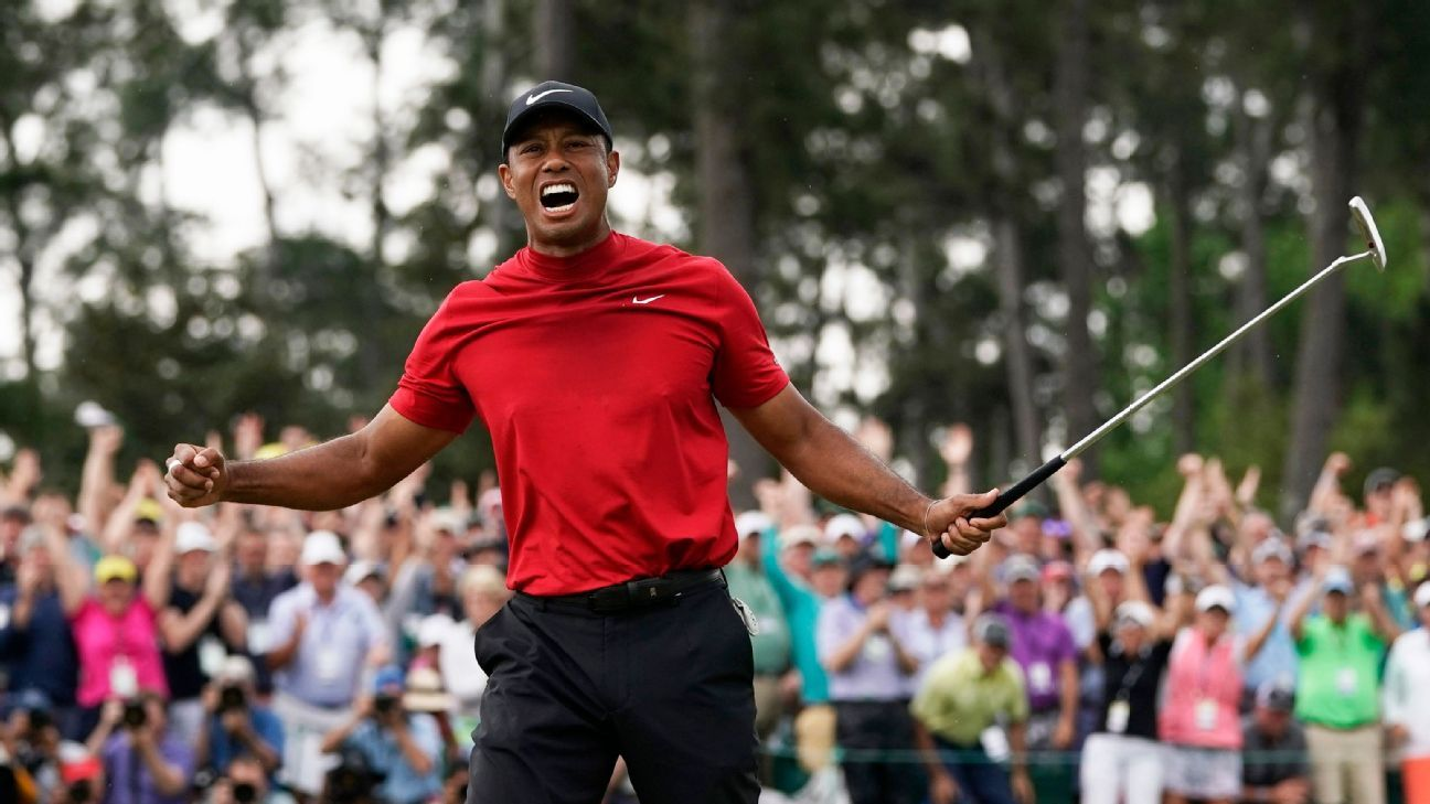 Tiger Woods writing first memoir, titled 'Back'