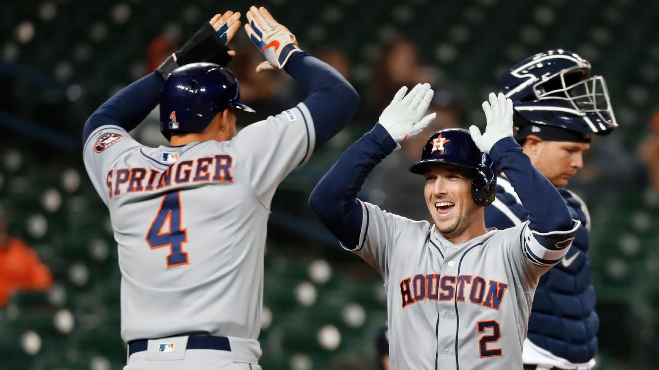 79deb958820 Real or Not? This Astros offense could be the best in MLB history
