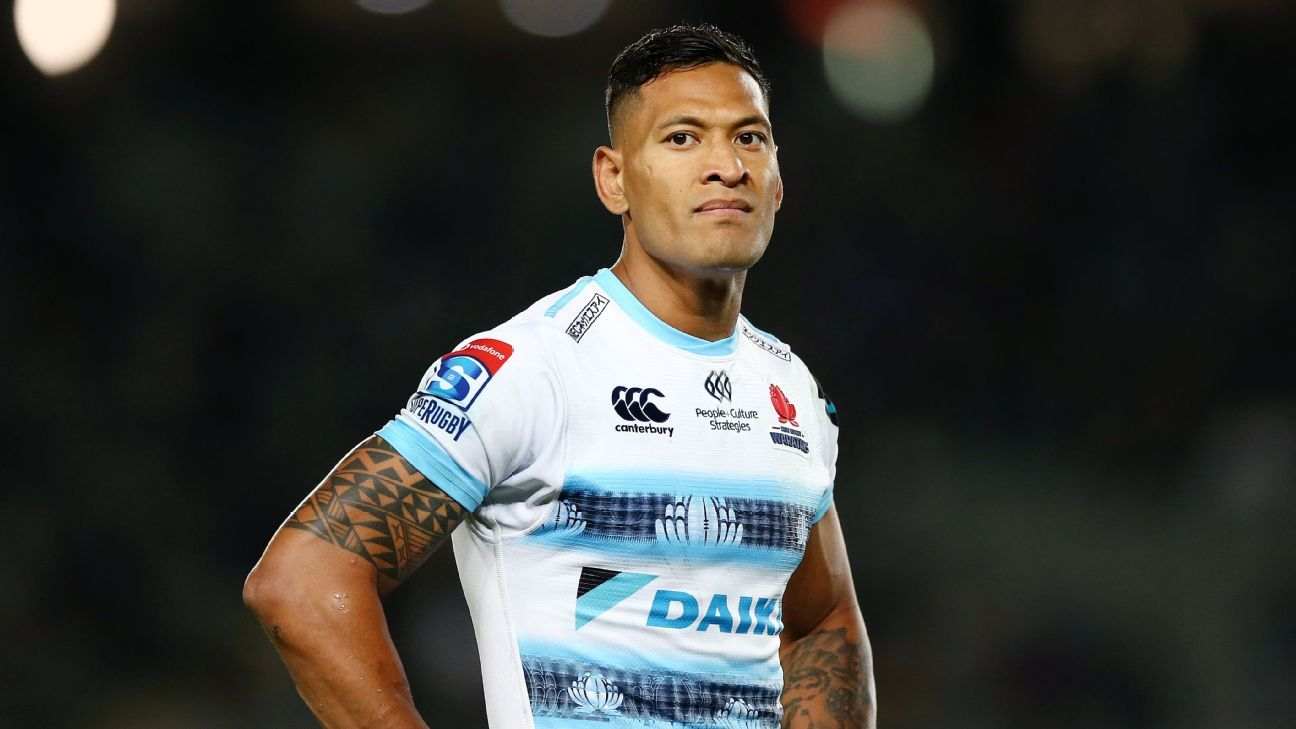 Israel Folau has contract terminated following Code of Conduct hearing