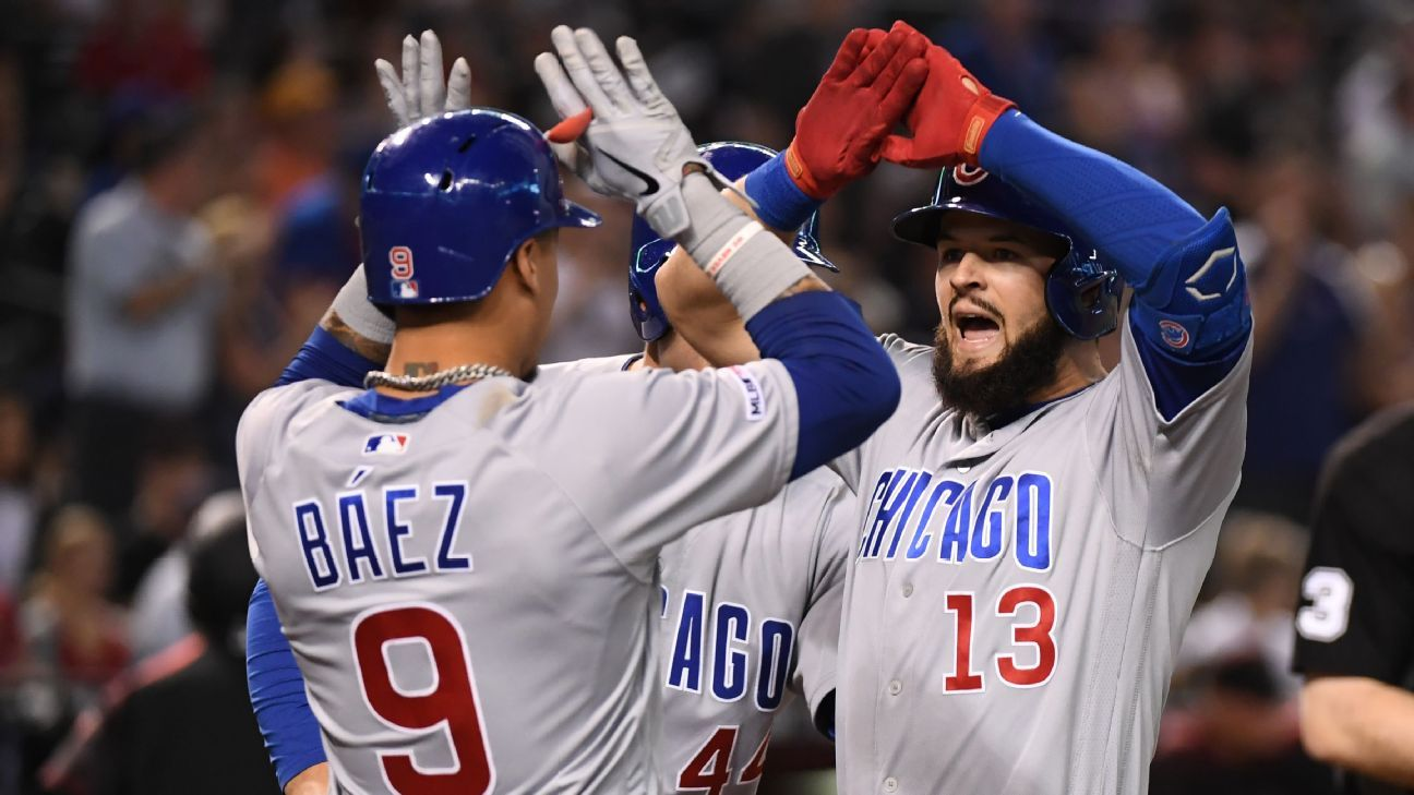 Forget last year's collapse and their slow start -- the real Cubs are back