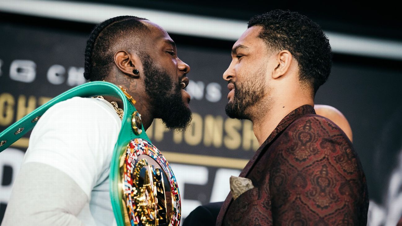 Ringside Seat Deontay Wilder And Dominic Breazeale Don T Like Each
