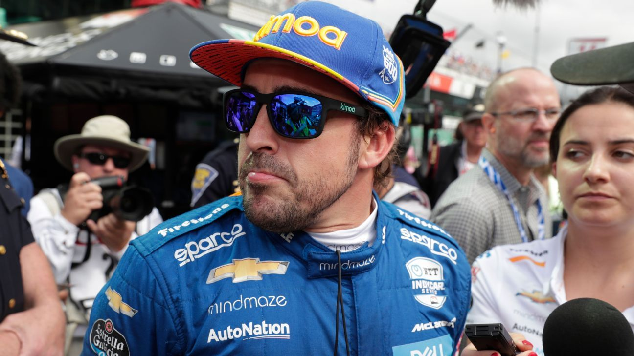 Alonso fails to qualify for Indy 500; Hinchcliffe in - ESPN