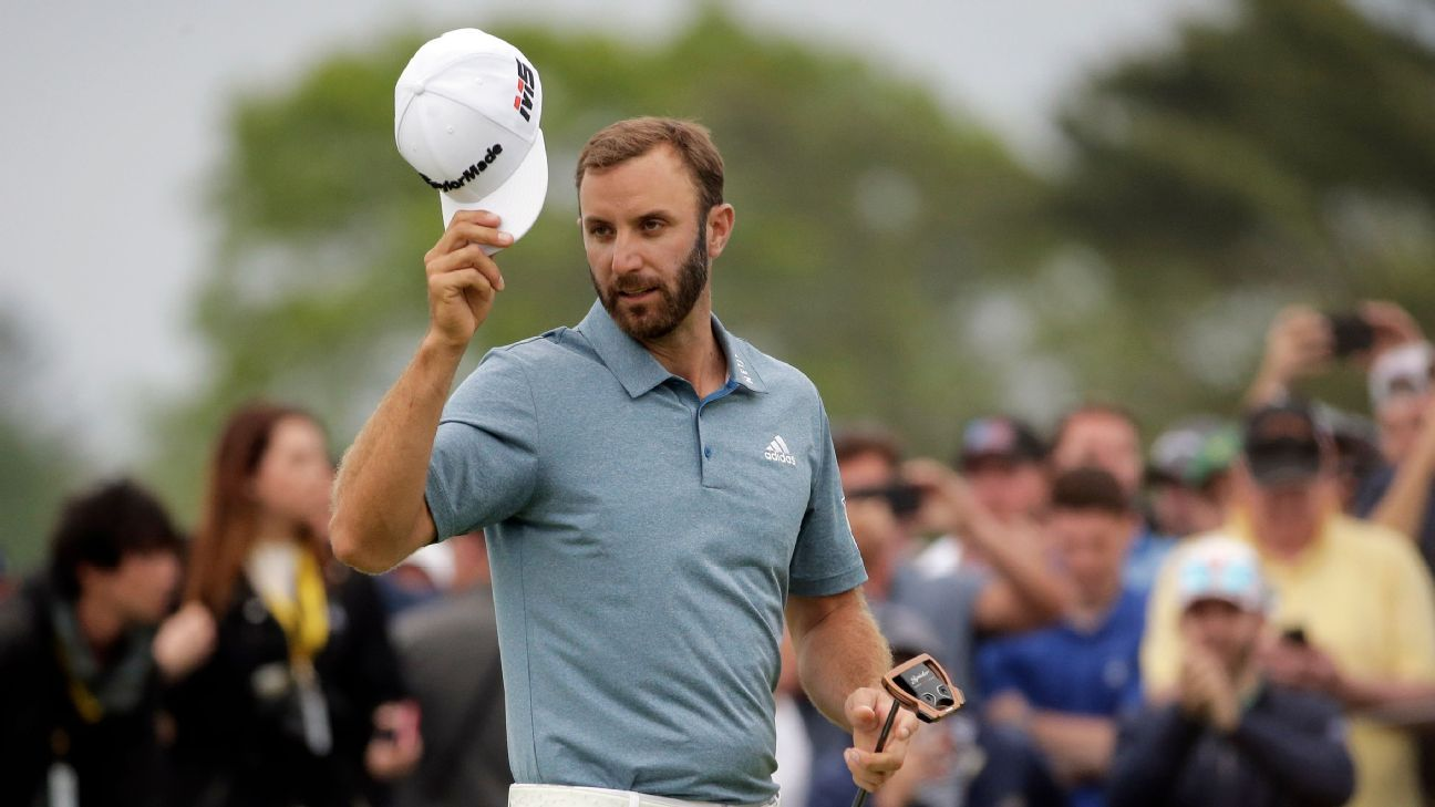Dustin Johnson found a way to come up short ... again