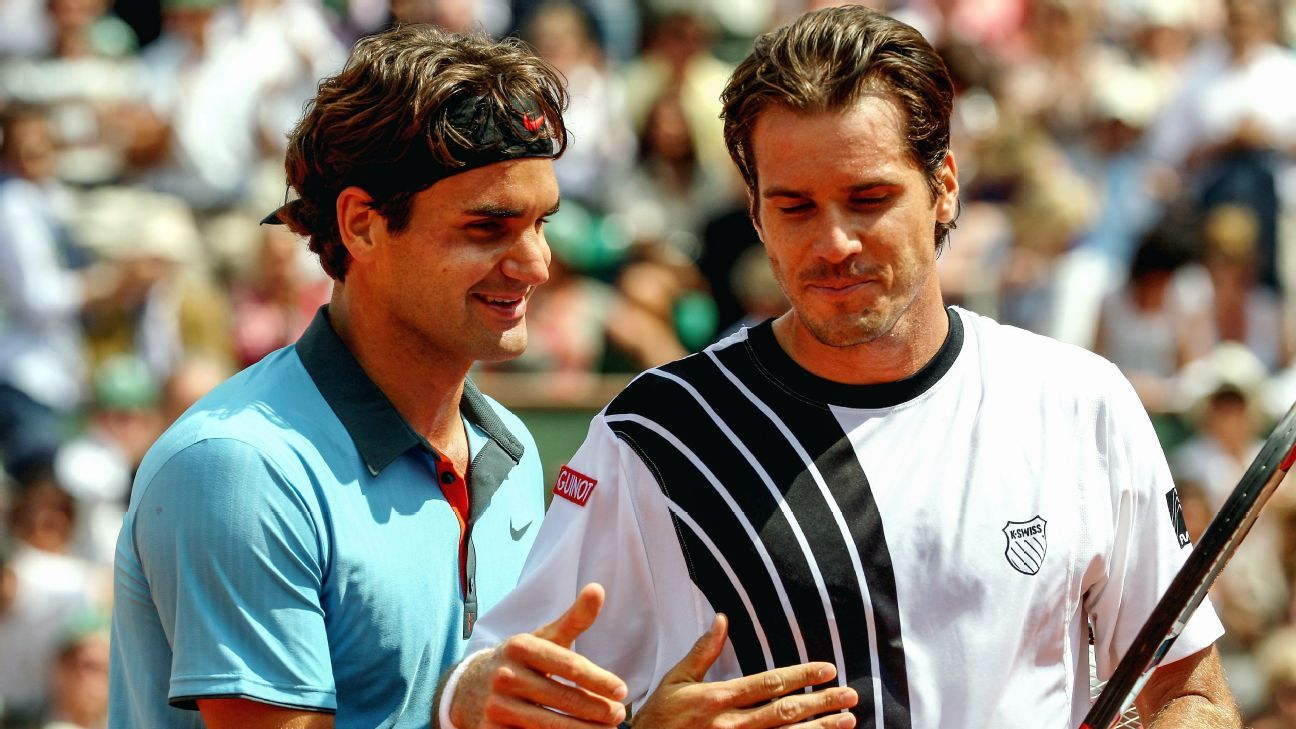 How a French Open win over Tommy Haas cemented Federer's legacy