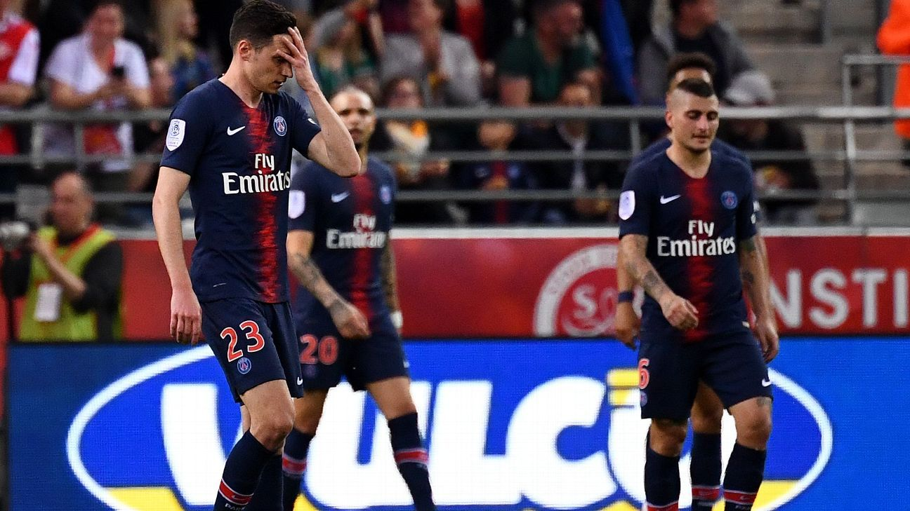 El PSG cierra la Ligue 1 con derrota y con el futuro de algunas de sus estrellas en el aire