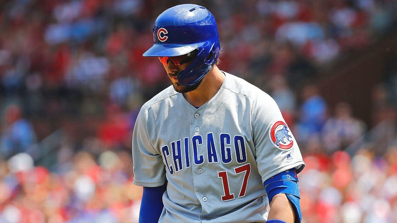 Kris Bryant's trip to St. Louis wasn't very lively, as Chicago struggled to get timely hits and fell out of first place in the process.