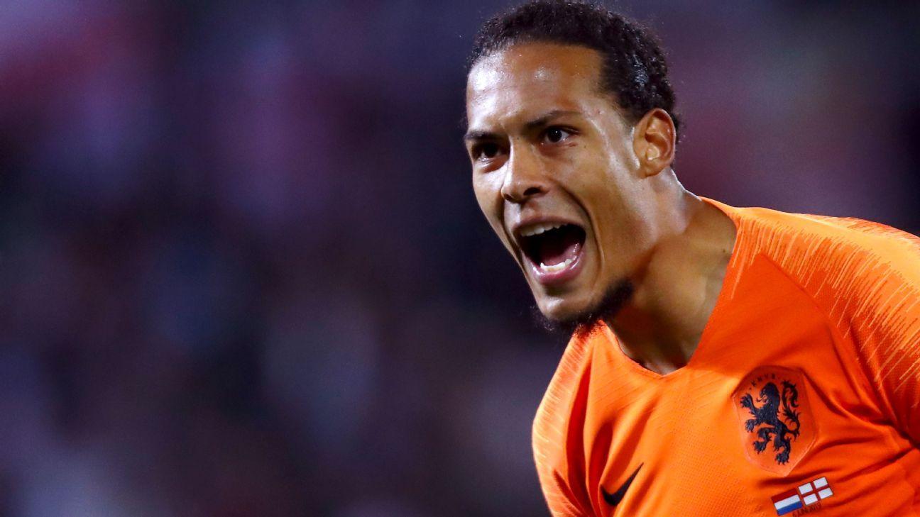 Van Dijk a shoo-in for Ballon d'Or - if he stops Ronaldo in Nations League final