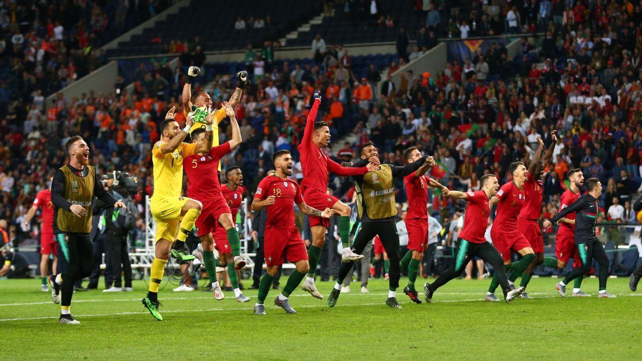 Portugal vs  Netherlands - Football Match Report - June 9