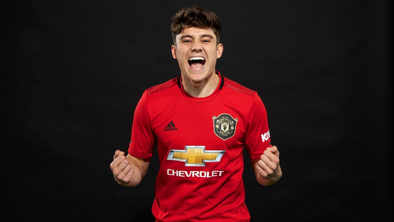Man United's Daniel James: Meet 'electric' youngster who ...